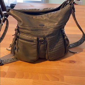 Large Multi Zip Convertible Bag